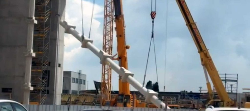 Cantiere LIDL ad Arcole